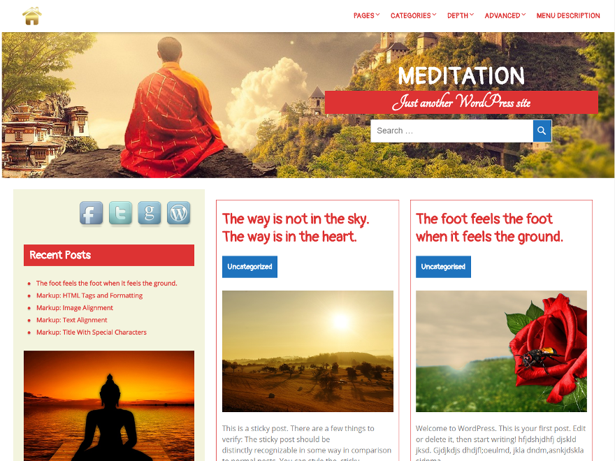 meditations and mindfulness